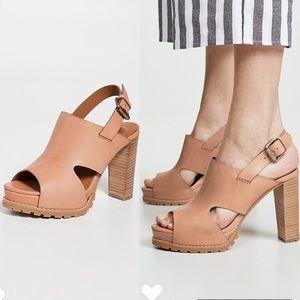 NWT See by Chloe 'Brooke' Platform Hi Heel Sandal